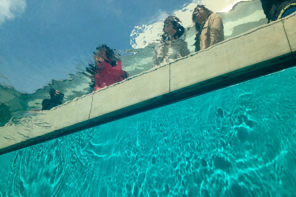 The Swimming Pool, a famous art installation at 21st Century Museum