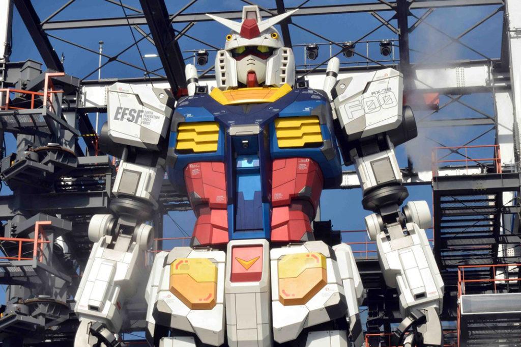 Yokohama Gundam Statue