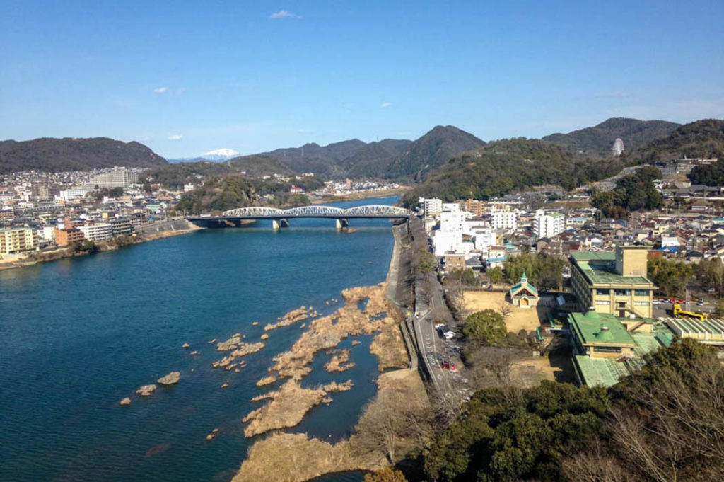 View of the Kiso River