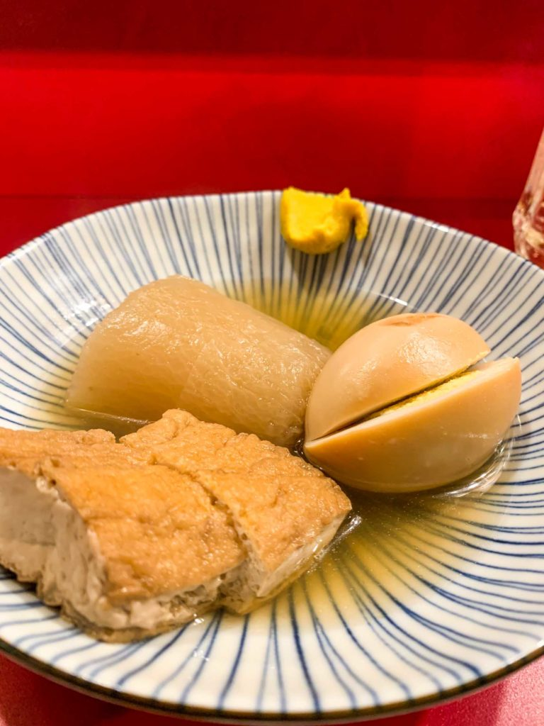 Oden on the menu
