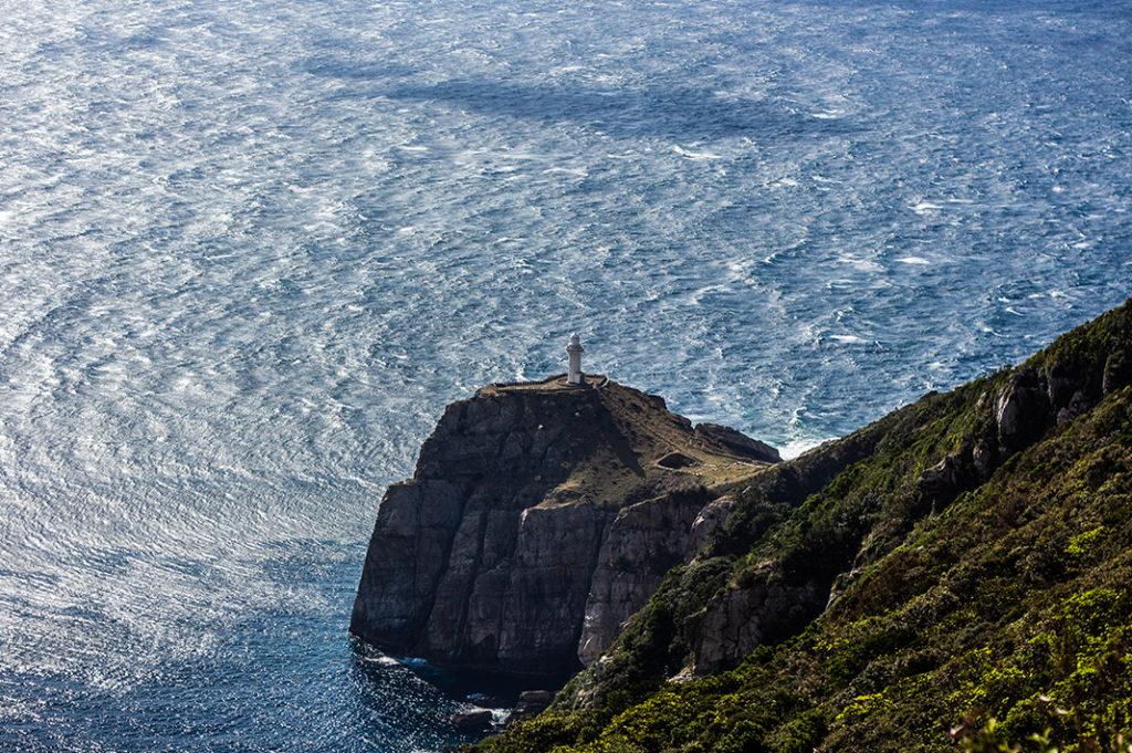 Osezaki Lighthouse - Fukue Island is the largest of the Goto Islands, famous for local cuisine, beautiful coastal scenery and abundance of Catholic churches.