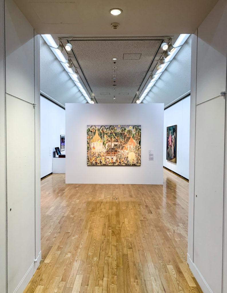 Beautiful works on display