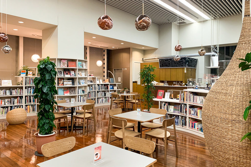 The Art Cafe - grab a book and a coffee