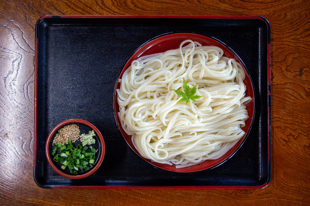 Noko Udon - the island's specialty!
