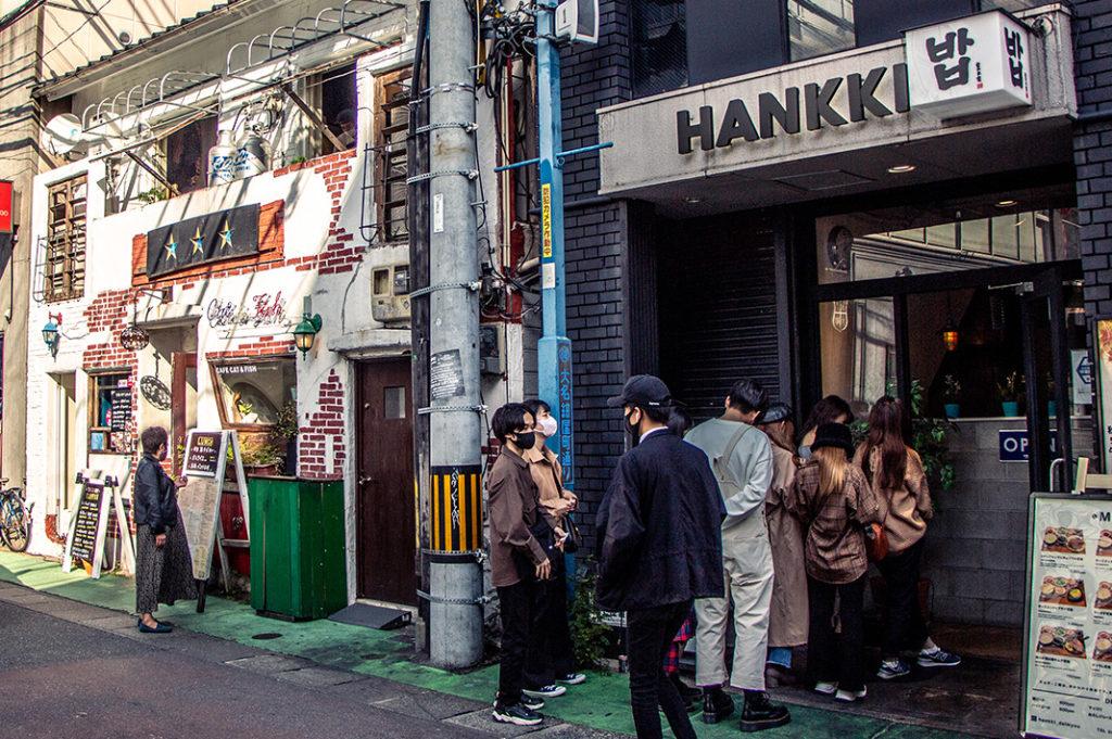 Queueing in Daimyo - Fukuoka's coolest neighbourhood